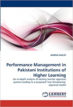 organizational performance of higher educational institutions in pakistan management essay Performance appraisals essay  microfinance institutions performance in pakistan  performance management reflects organizational goals.