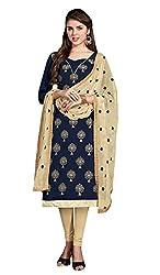 Surbhi Fashion-SDVI-ELIFA11137-Designer Semi Stitched Dress Material