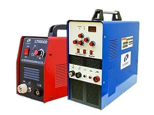 Lotos Combo 50A Plasma Cutter + TIG200 AC/DC Tig Welder LT5000DTIG200