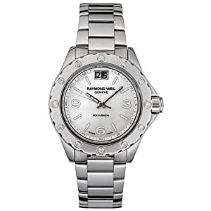 Raymond Weil Women's 6170-ST-05997 Spirit Diamond Accented Stainless Steel Watch