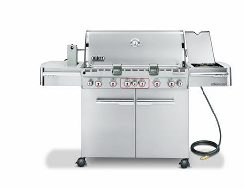 Weber Summit S  Natural Gas Conversion
