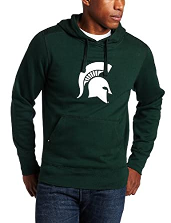 NCAA Michigan State Spartans Applique Signature Hoodie Mens by Antigua