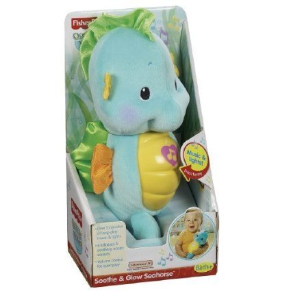 Fisher-Price Soothe and Glow Seahorse, Ages Birth+ 1 ea - 1