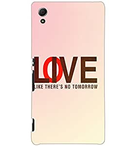 SONY XPERIA Z4 LOVE Back Cover by PRINTSWAG