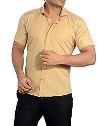 Baaamboos Casual Half Sleeve Rich Cotton Shirt HRC42 (42)