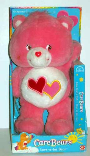2002 Care Bears Love-a-Lot Bear 13