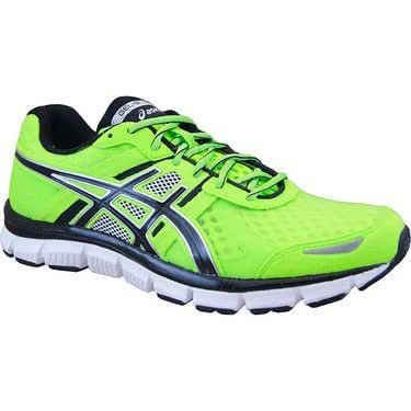 ASICS Mens Gel Blur 33 Running Shoes Color: Green/White/Black Size: 12.5
