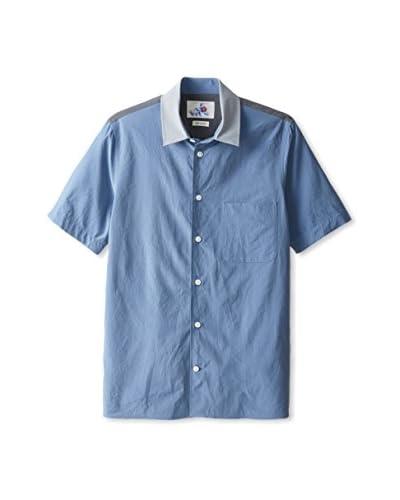 Marc Jacobs Men's Colorblock Short Sleeve Shirt