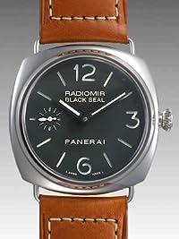 [パネライ]PANERAI 腕時計 【限定1000本】ラジオミール ブラックシール 45mm 手巻き レザー ブラック PAM00183 メンズ [並行輸入品]
