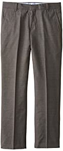 Tommy Hilfiger Big Boys' Sharkskin Pant, Charcoal Heather, 08 Regular