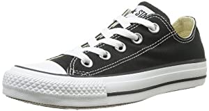 Converse Chuck Taylor All Star Lo Top Black Canvas 5.5