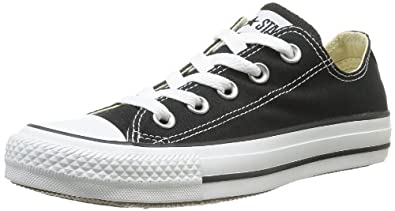 Converse Chuck Taylor All Star Shoes (M9166) Low Top In Black, Size: 9.5 D(M) US