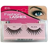 Andrea Ardell Fashion Lashes 100% Human Hair Black #106 (4-pack)