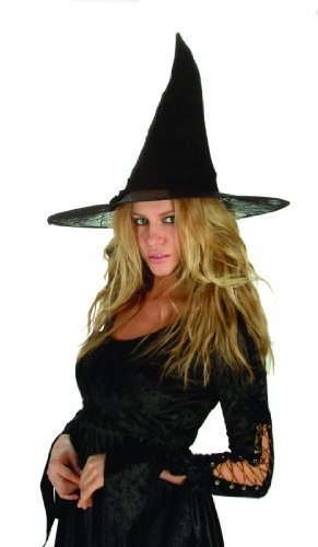 Adult Spider Witch Hat Costume Accessory