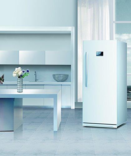 13.7 Cu. Ft. Upright Freezer Color: White front-489869