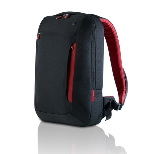 Belkin Impulse Line Slim Back Pack for up to 17-Inch Laptops - Jet Cabernet