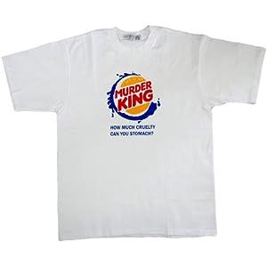 ジョークTシャツ MURDER KING マーダーキング (Lサイズ)