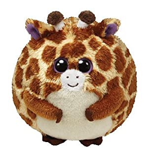 "TY Beanie Ballz 9"" Plush Giraffe Tippy"