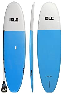 Isle 11'2 Versa Stand Up Paddle Boards - Blue with Carbon Fiber Paddle from Isle Surf & SUP
