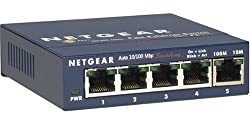Netgear FS105 ProSafe 5-Port Fast Ethernet Desktop Switch