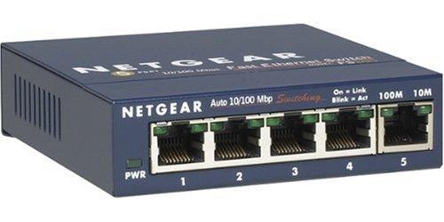 NETGEAR FS105NA Switch 5Port Metal