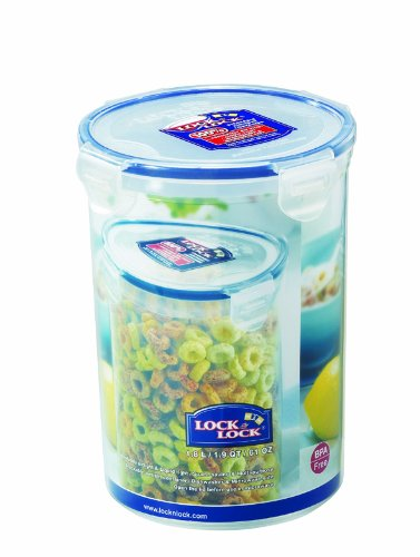 Lock&Lock 61-Fluid Ounce Round Food Container, Tall, 7-1/2-Cup