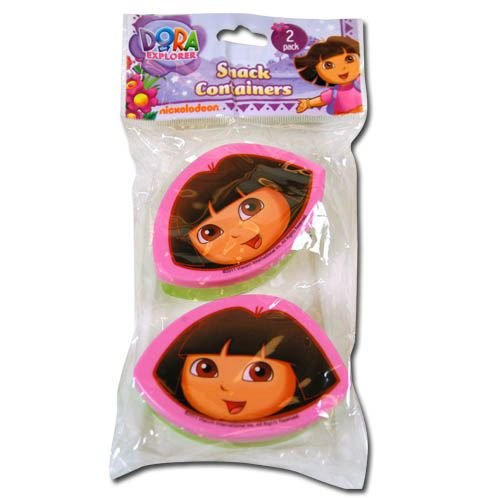 Dora The Explorer Snack N Store Food Storage Container