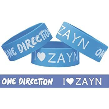 Set A Shopping Price Drop Alert For I Love Zayn Malik One Direction Band One Inch Wristband