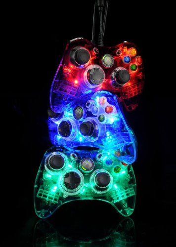 """Imagen de Afterglow AX.1 controlador para Xbox 360 - Azul """"Nuevo para el 2010"""""""