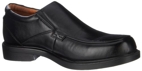 Freeman #1320 Mens Slip On Loafers Black 11W