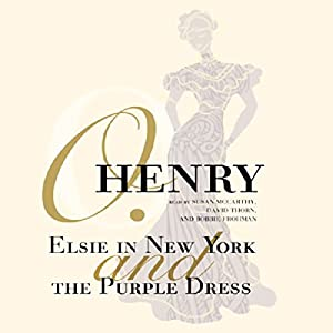 Elsie in New York and The Purple Dress Audiobook
