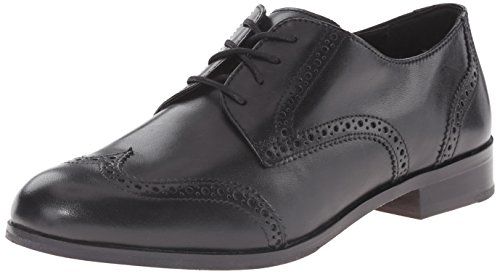 Cole Haan Women's Jagger Wing Oxford, Black, 9 B US