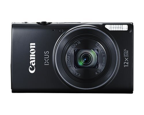 Canon 1144C004 Essential Kit IXUS 177 - Fotocamera Digitale Compatta, 20 megapixel, SD da 8 GB, Nero