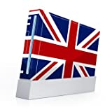 Nintendo Wii Skin - Union Jack - High quality precision engineered removable adhesive vinyl skin for Nintendo Wiiby DecalGirl