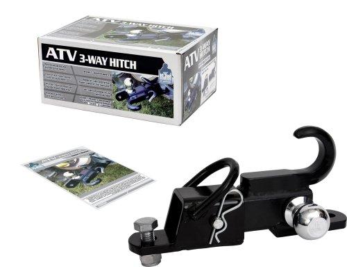 Komodo-ATV3WH22-ATV-3-Way-Receiver-Hitch-with-2-Hitch-Ball