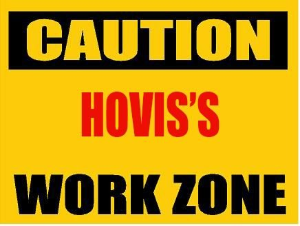 6-caution-hovis-work-zone-vinyl-decal-bumper-sticker