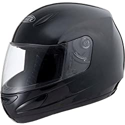 GMAX GM48 Solid Men's Street Bike Racing Motorcycle Helmet - Black