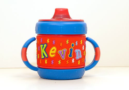 Personalized Sippy Cup: Kevin front-739605