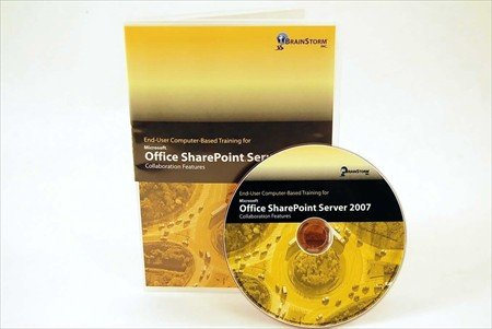 Microsoft Office SharePoint Server 2007 - Collaboration Features - Computer Based Training DVD Rom - Learn MS Office Share Point 2007 with 7 Hours of Lessons on CD That Are Well Organized From Basic to Advanced Features. Over 230 Collaboration Features Explained By an Experienced Instructor: Teams, Social Networking, etc... Brush up on Your Computer Software Skills with CBT Training