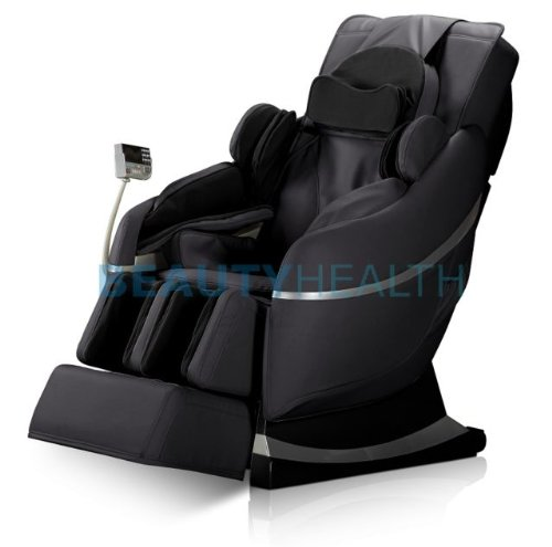 2014 Beautyhealth Forever Rest Supreme Series Ultimate Massage Chair Elite With True Zero Gravity, 3D Scan, Rolling Foot Massager, 10Yr Warranty (Black) front-29455