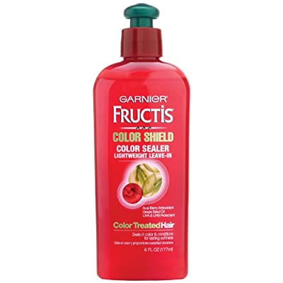 Best Cheap Deal for Garnier Fructis Color Sealer, Instant, Lightweight Leave-In, Color Shield, For Color-Treated Hair, 6 oz. by Garnier LLC - Free 2 Day Shipping Available