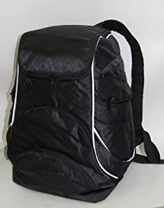 Swimmer Backpack Large Swimming Backpack With Pocket For Shoes Wet Items - Black by Proximelle