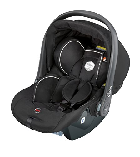 kiddy 41490RPE77 relax pro Babyschale Gruppe 0+ (0-13 kg), Liegefunktion, schwarz