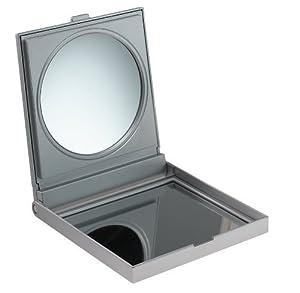 Fmg mirrors miroir de voyage grossissant x3 argent - Amazon miroir grossissant ...