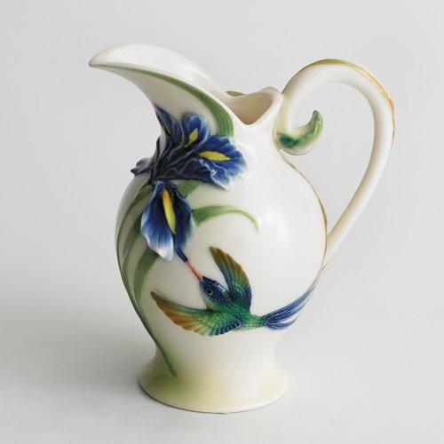 Franz Porcelain Long Tail Hummingbird Creamer