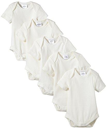 Twins - Body Bimbi, pacco da 5, bianco (Off White), 18-24 mesi
