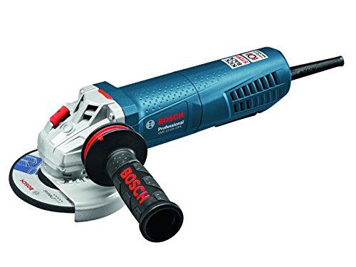 Bosch-Professional-GWS-12-125-CIPX-Winkelschleifer-125-mm-1200-Watt-mit-Drehzahl-Regelung-KickBack-Stop-Totmann-Schalter-Bremse-in-Karton