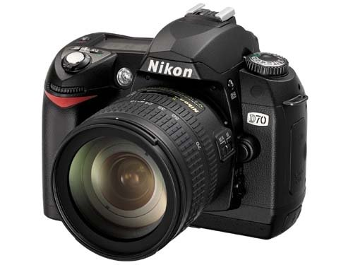 Nikon D70 Digital SLR Camera Body Only
