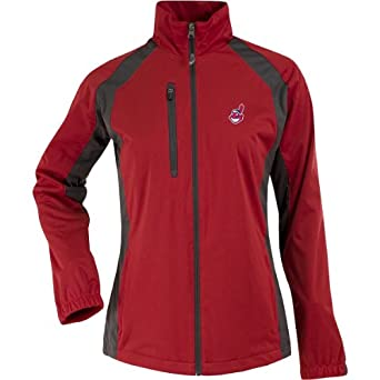 MLB Cleveland Indians Ladies Rendition Jacket by Antigua