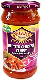 Patak\'s Original Butter Chicken Cooking Sauce (Mild) - 15oz